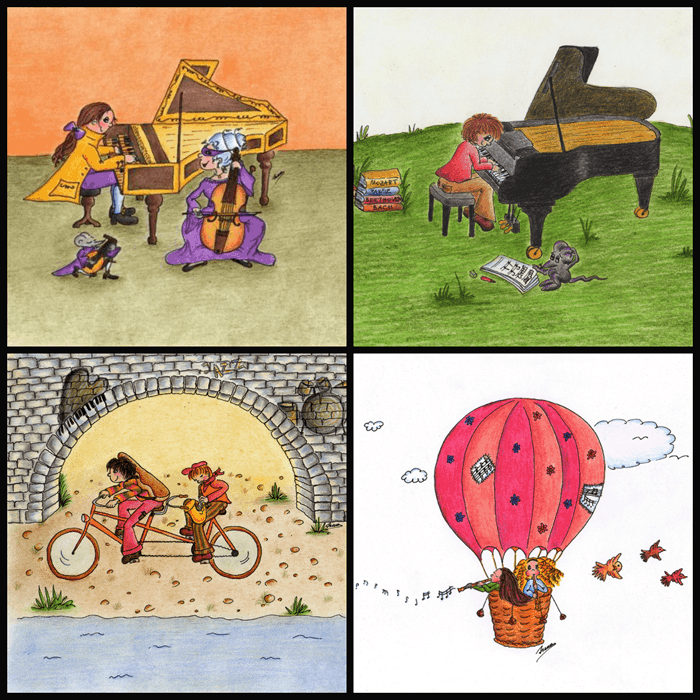 instruments children's calendar