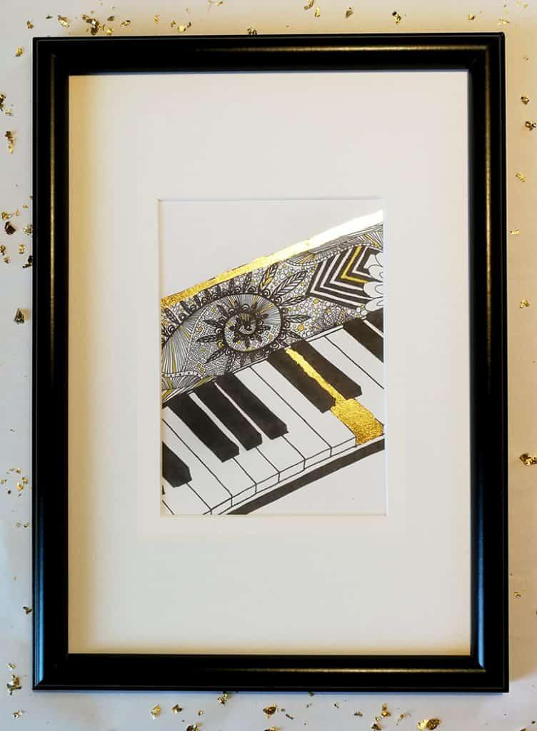 Klavir Gold